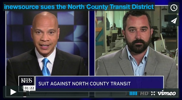 inewsource sues the North County Transit District for records