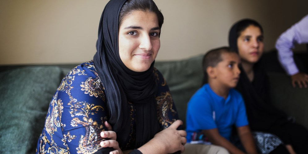 Refugee families forced to move; too many living in their apartments