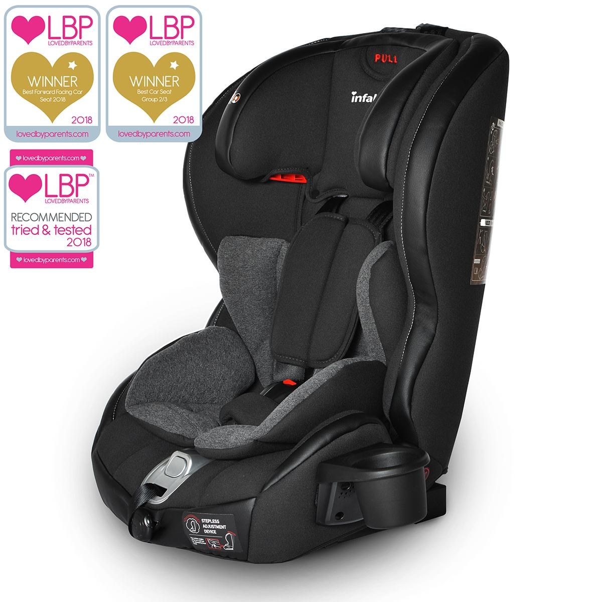 Infant Seat Vs Safety Seat Infababy Safe Plus Isofix Car Seat Group 123 Graphite