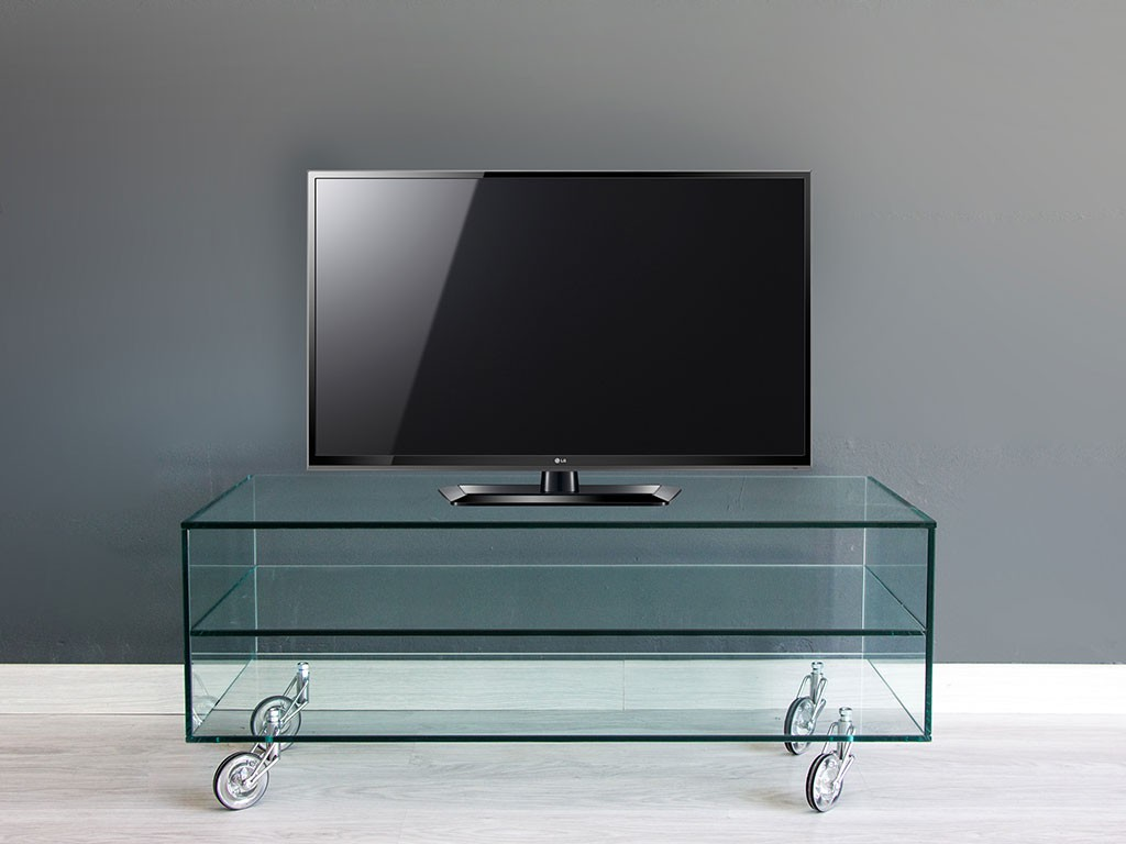 Tv Stand With Wheels Glass Tv Stand With Wheels Movie