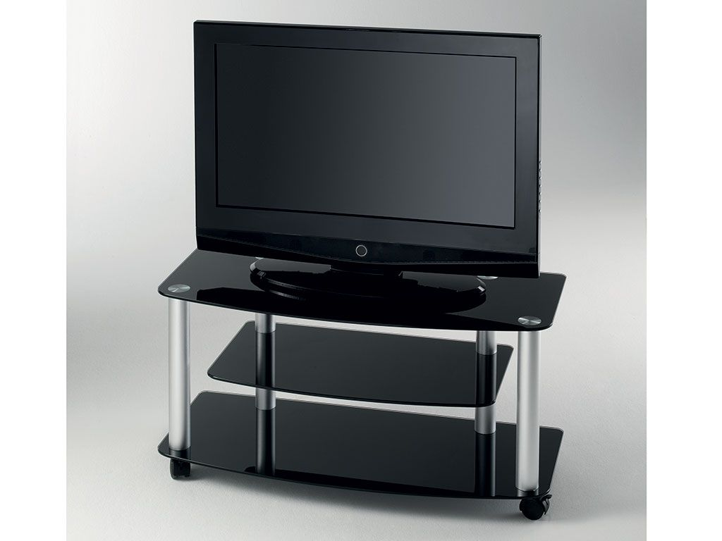 Tv Stand With Wheels Tv Glass Stand With Wheels Millenium