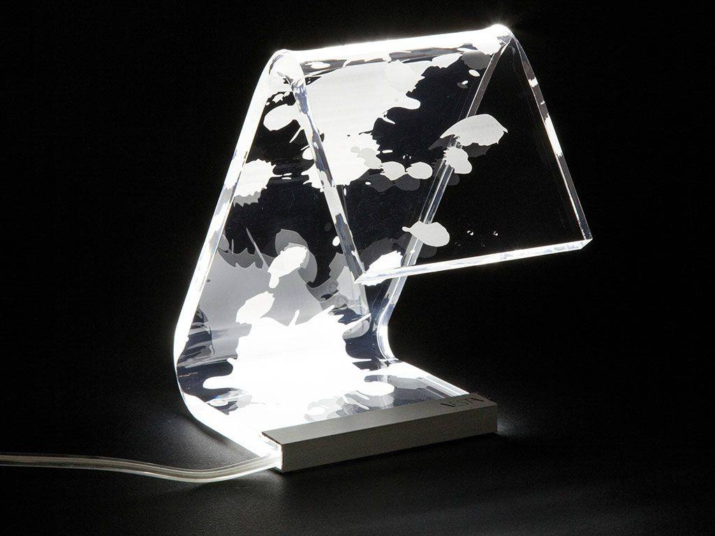 Lampe De Table Exterieur Led Lampe De Table De Design C Led Macchia