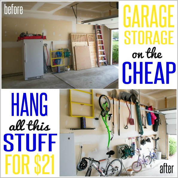 Ikea Sofa 595 How To Hang Stuff In Your Garage On The Cheap