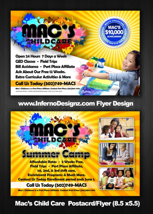 Daycare Flyer Elegant Daycare Flyers Daycare Flyers Psd Vector Eps - daycare flyer template