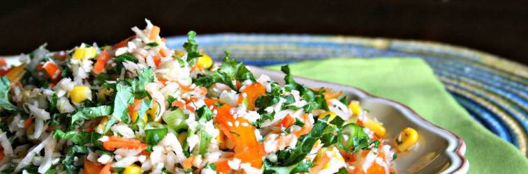 Orange and Cilantro Slaw