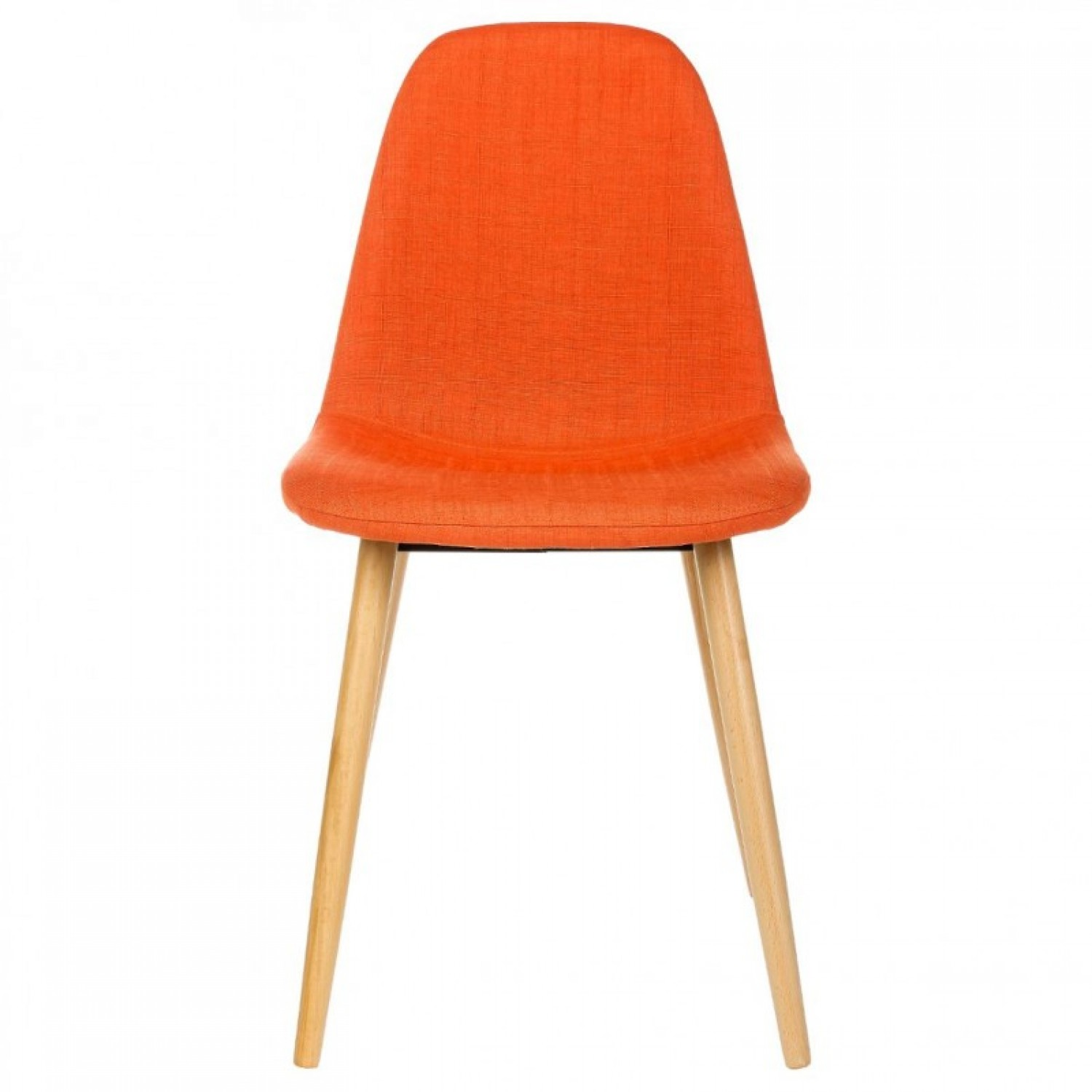 Chaise Scandinave Orange Fauteuil Style Scandinave Pas Cher Infini Photo