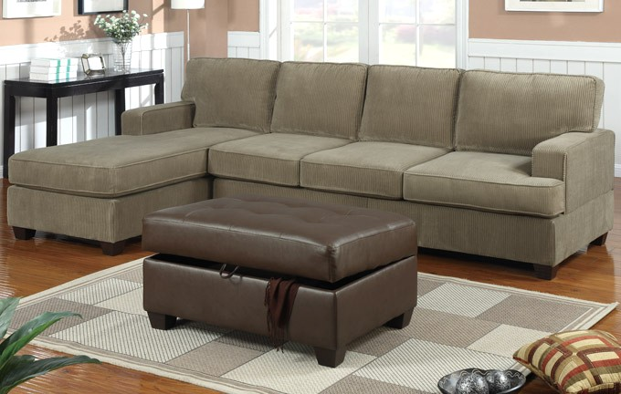 Corduroy Sofa Sectional Bobkona Sofa Corduroy Sage Sectional Set Couch F7180 | Ebay