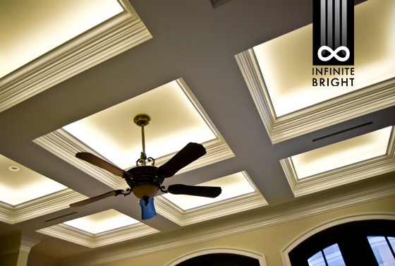 Modern Crown Molding Infinite Bright Customer Lighting Projects
