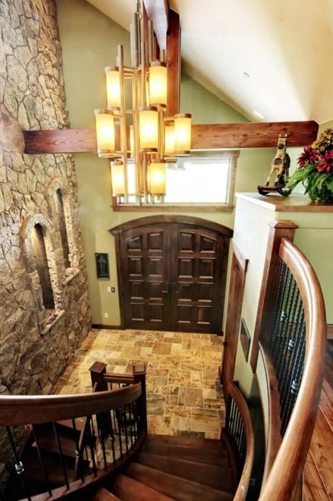 Mountain Custom Home With Spacious, Open Floor Plan