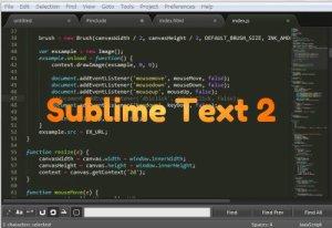 沢山の人が恋に落ちている『Sublime Text 2』を使う際に参考になるサイトまとめ