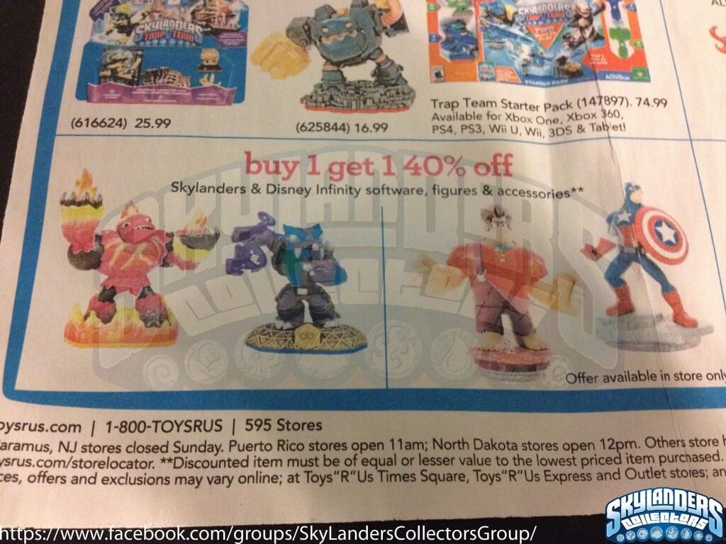 Toys R Us 10 5 10 11 Disney Infinity Deals Update Power Discs Included Infinity Inquirer