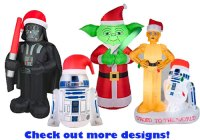 Inflatable Star Wars Characters | Inflatable Christmas ...