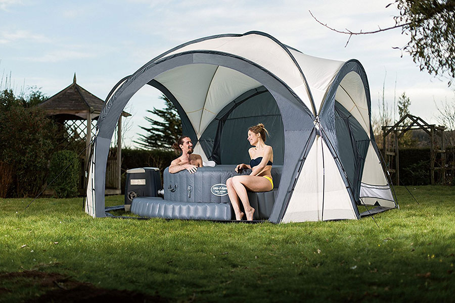 Soft Tube Whirlpool Lay-z-spa Dome Enclosure & Gazebo Review For Your