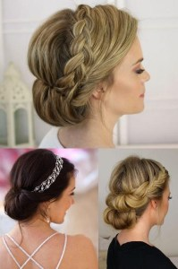 15 Photo of Wedding Updos For Long Thin Hair