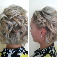Photo Gallery of Wedding Guest Hairstyles For Short Hair ...