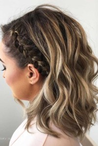 2018 Popular Cute Hairstyles For Short Hair For Homecoming