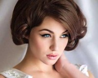 2018 Popular Hairstyles For Short Hair For Wedding Guest