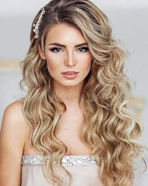 15 Photo of Long Hairstyles For Wedding Party