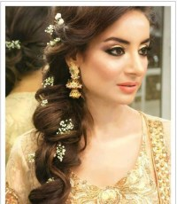 2018 Latest Indian Wedding Long Hairstyles