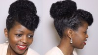 15 Collection of Natural Hair Updo Hairstyles For Weddings