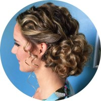 15 Best Collection of Naturally Curly Hair Updo Hairstyles
