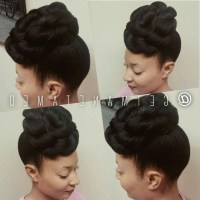 15 Best Ideas of Natural Hair Wedding Updo Hairstyles