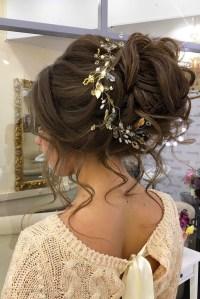 15 Inspirations of Wedding Bun Updo Hairstyles