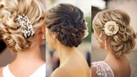 2018 Latest Wedding Updo Hairstyles For Shoulder Length Hair