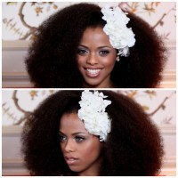 15 Best Collection of Wedding Hairstyles For Afro Hair