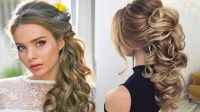 15 Ideas of Wedding Hairstyles For Medium Length Dark Hair