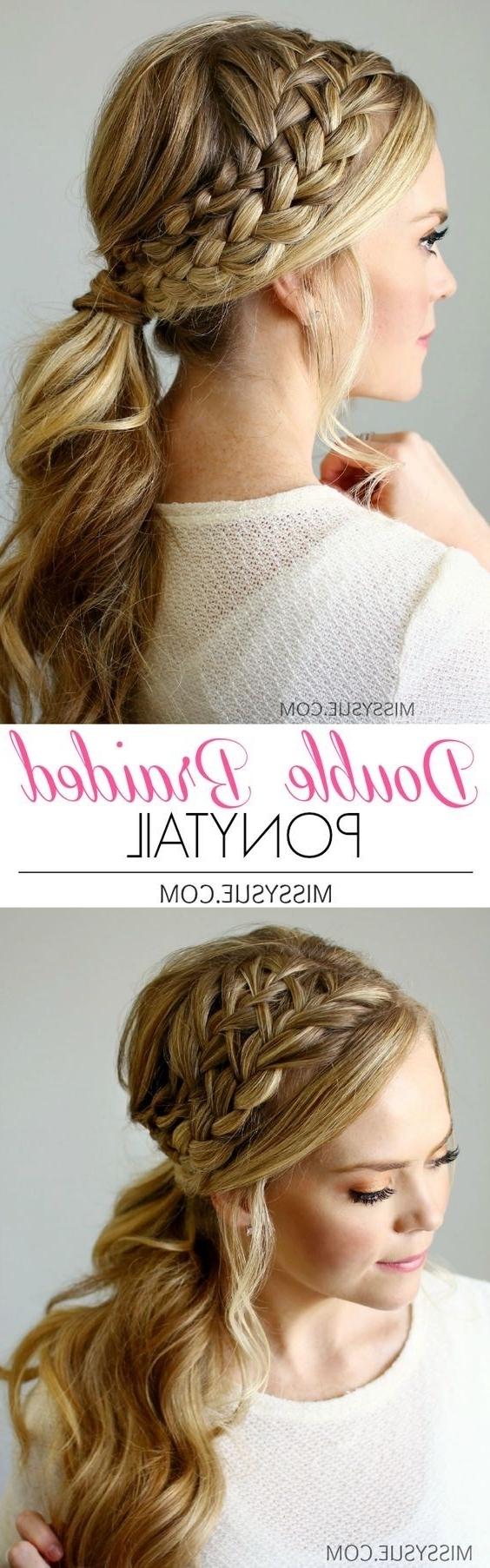 Cute Short Hair Ponytails 2018 Hair Styles 15 Cute And Easy