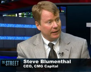 Steve Blumenthal, CEO of CMG Capital Management Group