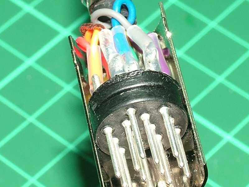 Din Connector Wiring Diagram Wiring Diagram