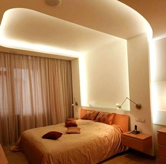 5 trendy, contemporary false ceiling design ideas Ceilings - beleuchtung für schlafzimmer