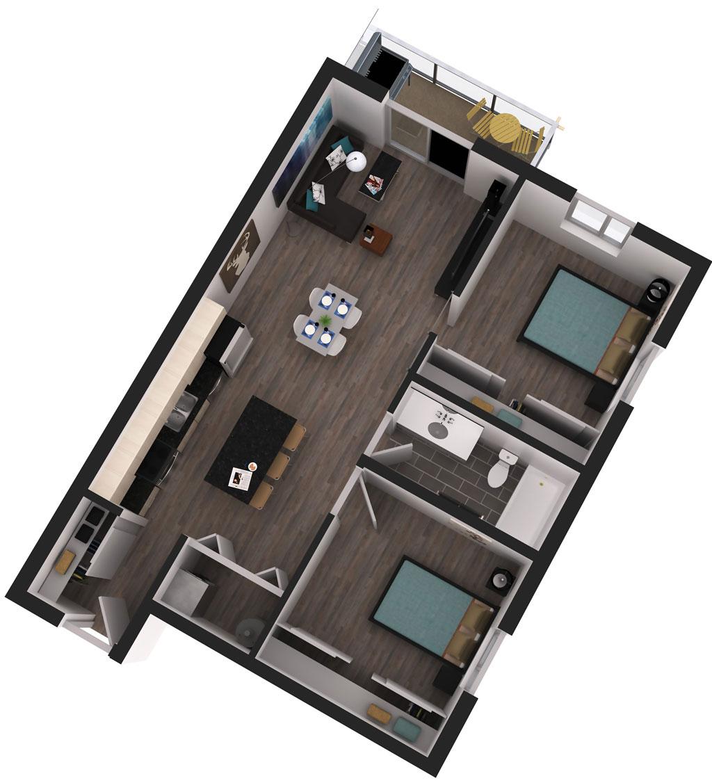 Bowery Floor Plan