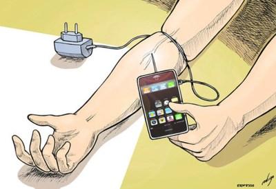 Как попадают в зависимость от смартфонов