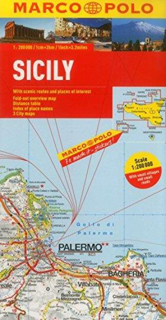 Sicily, Italy by Marco Polo Travel Publishing Ltd