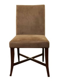 Crate & Barrel and Restoration Hardware Microsuede Chairs