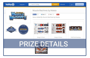 Maisto-Muscle-Machines-Prizes