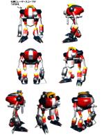E Gamma Sonic Concept Art