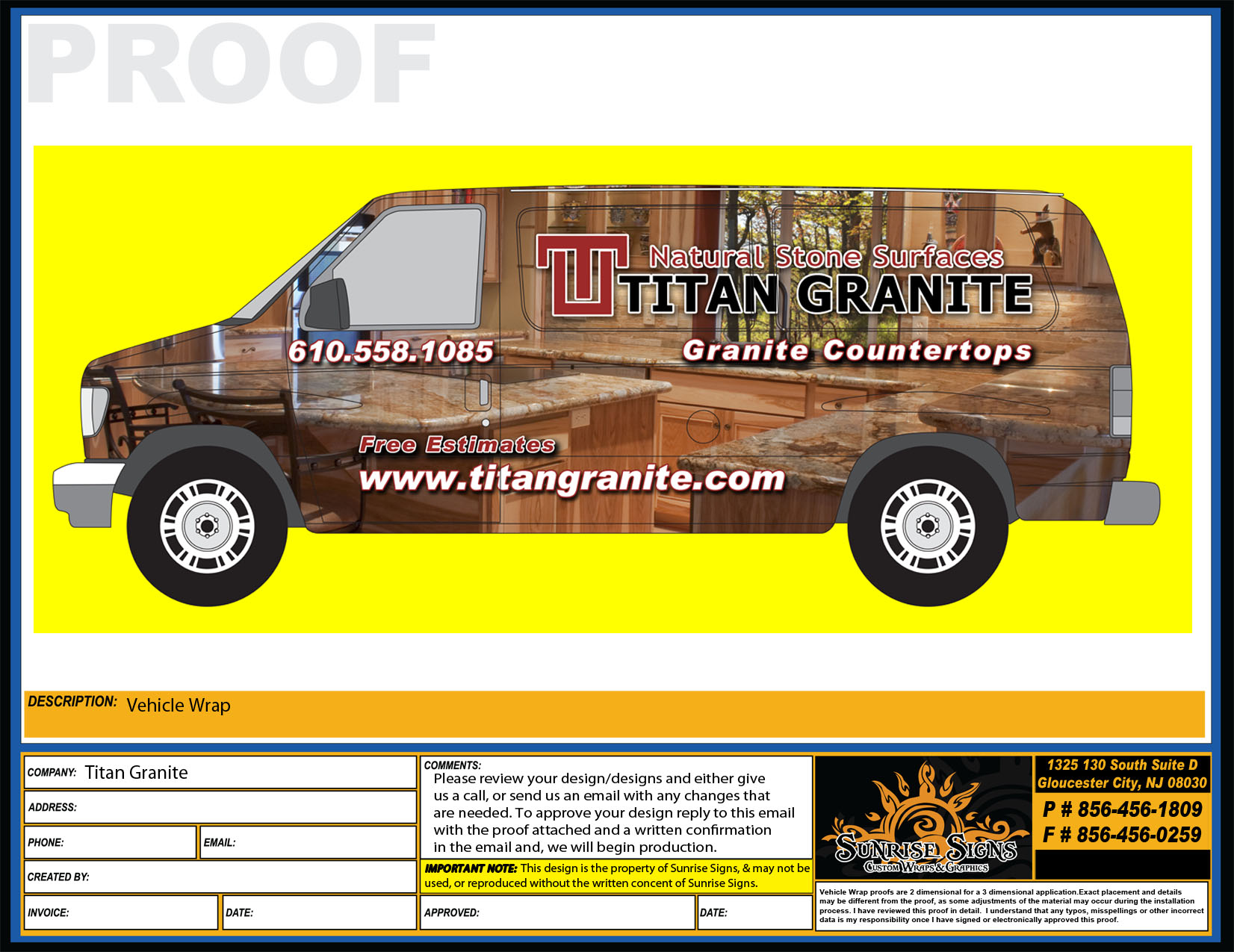 Granite Wrap Countertops Kitchen Countertop Contractor Remodels With Ford E250