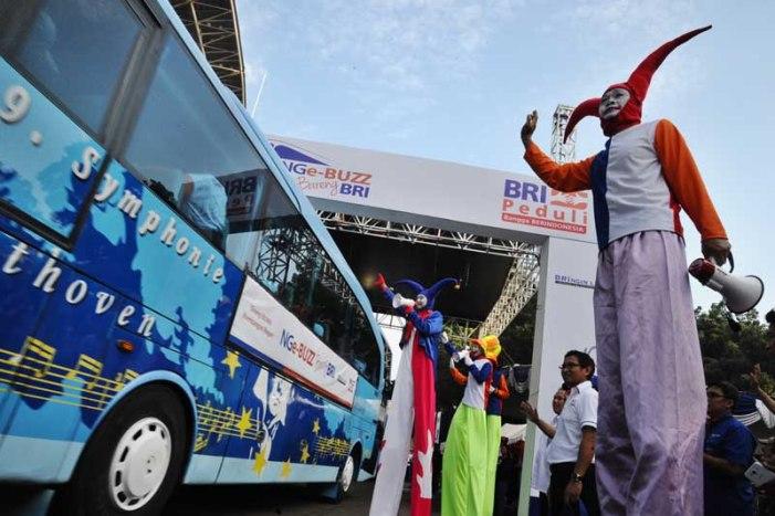 BRI Berangkatkan 6.000 Nasabah Mudik Gratis