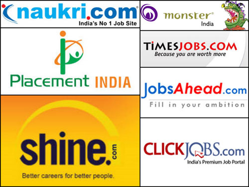 LIST OF JOB SITES IN INDIA - POPULAR EMPLOYMENT WEBSITES OF INDIA