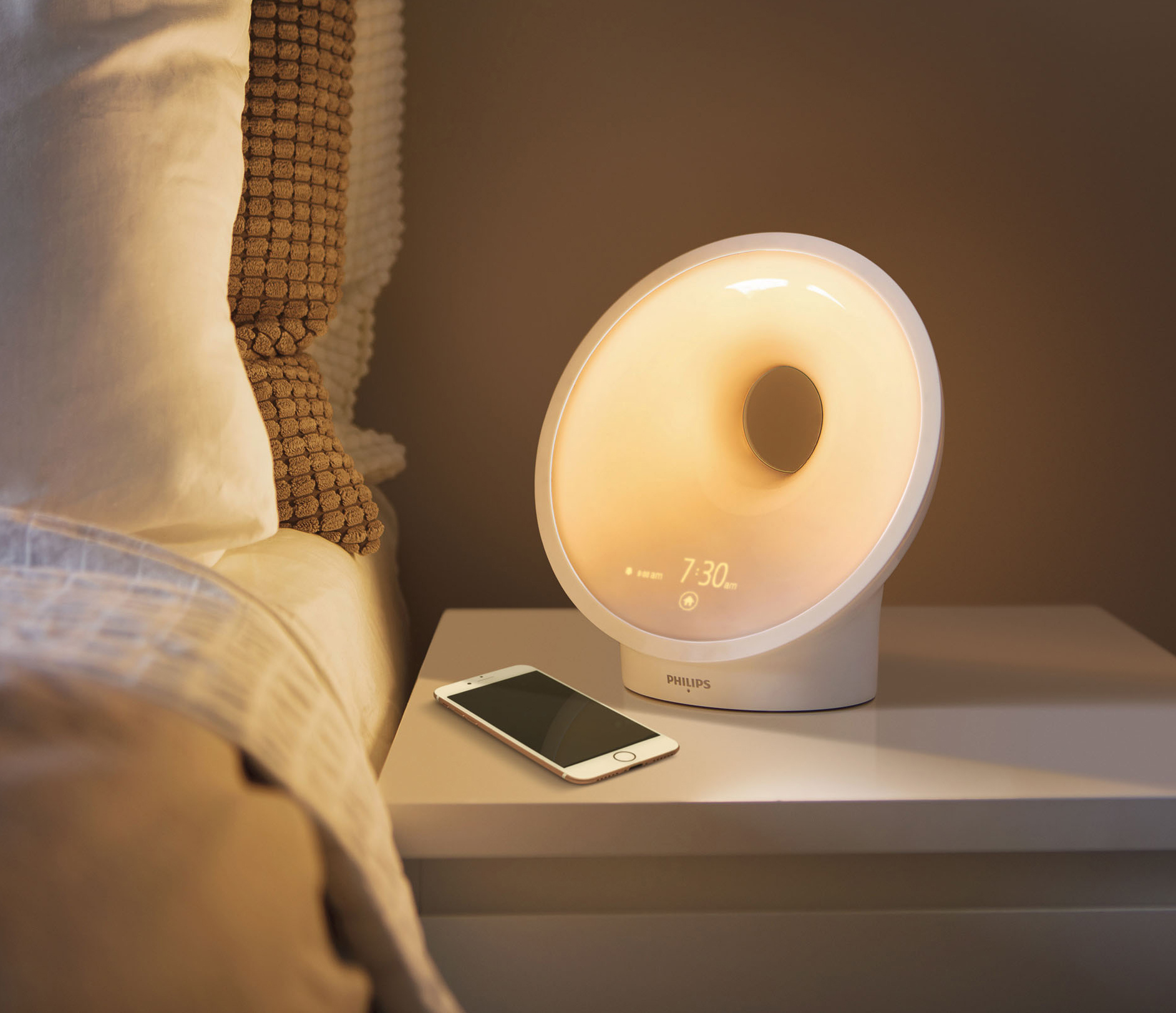Lichtlampe Philips Lichtlampe Somneo Sleep And Wake Up Light