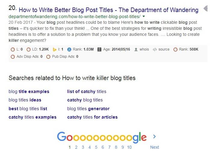 How to write Killer Blog Titles that convert - Catchy Ideas and Examples - how to write a title