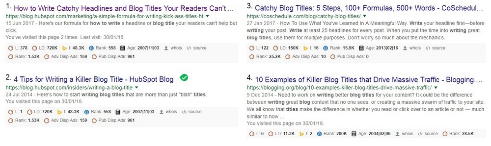 How to write Killer Blog Titles that convert - Catchy Ideas and Examples