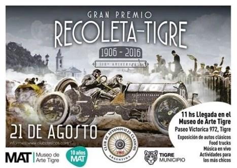 Llega la 20° edición del Gran Premio Recoleta – Tigre