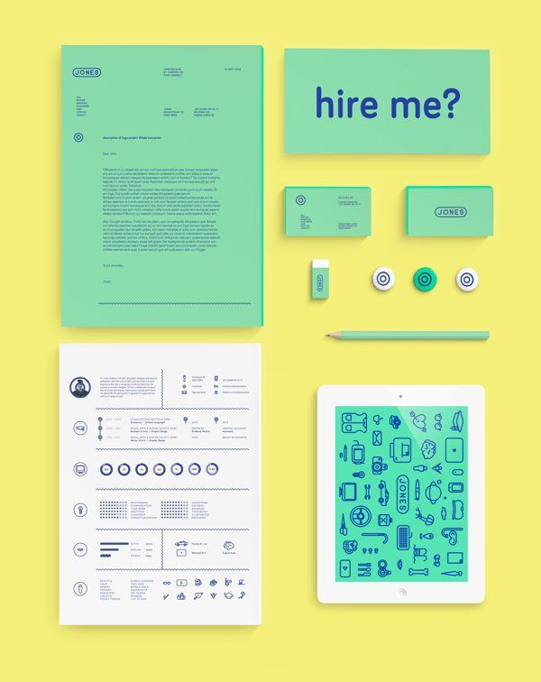 Business infographic  Fantastic Examples of Creative Resume Designs
