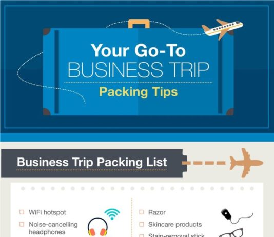 Travel infographic - The Ultimate List of Packing Hacks, Tips