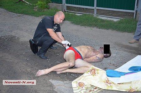 В Николаевской области полицейские забили насмерть мужчину. ФОТО 18+
